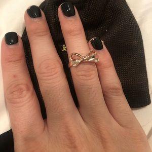 Rose gold Kate Spade ring